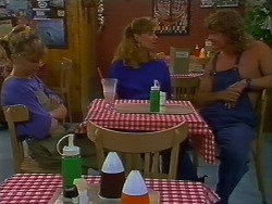 Charlene Robinson, Sally Wells, Henry Ramsay in Neighbours Episode 0705