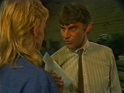Scott Robinson, Ross Warner in Neighbours Episode 0705