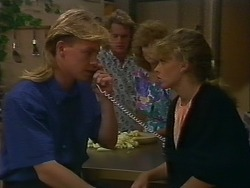 Scott Robinson, Henry Ramsay, Madge Ramsay, Charlene Robinson in Neighbours Episode 0705