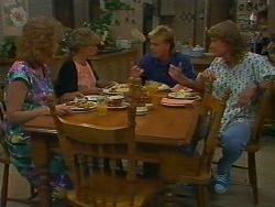 Madge Ramsay, Charlene Robinson, Scott Robinson, Henry Ramsay in Neighbours Episode 0705