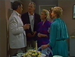 Ross Warner, Jim Robinson, Helen Daniels, Margaret Warner in Neighbours Episode 0705