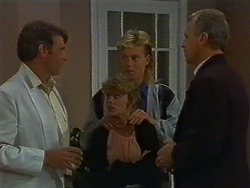 Ross Warner, Charlene Robinson, Scott Robinson, Jim Robinson in Neighbours Episode 0705