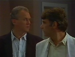 Jim Robinson, Ross Warner in Neighbours Episode 0705