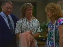 Harold Bishop, Henry Ramsay, Madge Bishop in Neighbours Episode 0706