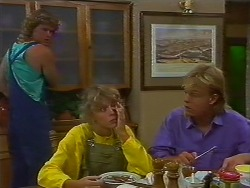 Henry Ramsay, Charlene Mitchell, Scott Robinson in Neighbours Episode 0706