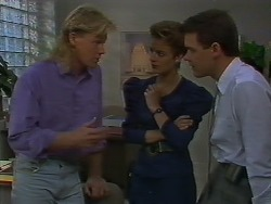 Scott Robinson, Gail Robinson, Paul Robinson in Neighbours Episode 0707