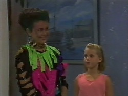 Lucy Robinson, Katie Landers in Neighbours Episode 0707