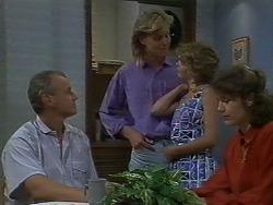 Jim Robinson, Scott Robinson, Charlene Robinson, Beverly Robinson in Neighbours Episode 0709