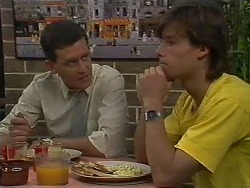 Des Clarke, Mike Young in Neighbours Episode 0709