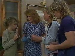 Charlene Robinson, Madge Ramsay, Scott Robinson, Henry Ramsay in Neighbours Episode 0709