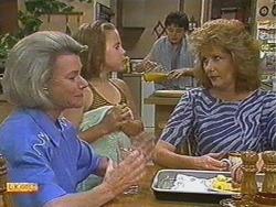 Helen Daniels, Katie Landers, Lucy Robinson, Madge Bishop in Neighbours Episode 0710