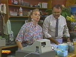 Sally Wells, Harold Bishop in Neighbours Episode 0710