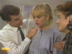 Paul Robinson, Jane Harris, Gail Robinson in Neighbours Episode 0710