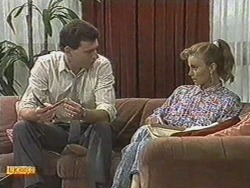 Des Clarke, Sally Wells in Neighbours Episode 0711