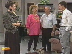 Gail Robinson, Gloria Lewis, Rob Lewis, Paul Robinson in Neighbours Episode 0711