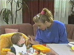 Jamie Clarke, Sally Wells in Neighbours Episode 0711