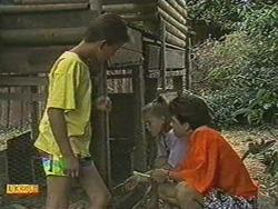 Todd Landers, Katie Landers, Lucy Robinson in Neighbours Episode 0711