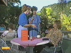 Sally Wells, Nell Mangel, Gloria Lewis in Neighbours Episode 0711