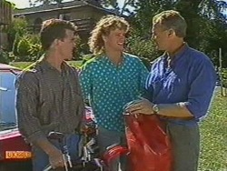 Paul Robinson, Henry Ramsay, Jim Robinson in Neighbours Episode 0712