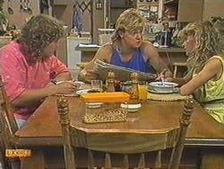 Henry Ramsay, Scott Robinson, Charlene Mitchell in Neighbours Episode 0713