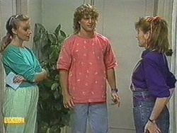 Sally Wells, Henry Ramsay, Melanie Pearson in Neighbours Episode 0713