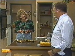Madge Bishop, Harold Bishop in Neighbours Episode 0714