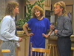 Henry Ramsay, Madge Ramsay, Scott Robinson in Neighbours Episode 0715