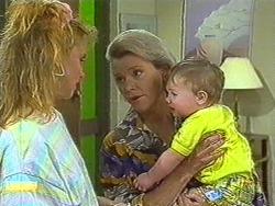Sally Wells, Helen Daniels, Jamie Clarke in Neighbours Episode 0715