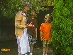 Nell Mangel, Todd Landers, Katie Landers in Neighbours Episode 0715