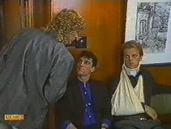 Henry Ramsay, Ted Regan, Dave Summers in Neighbours Episode 0715