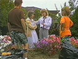 Todd Landers, Nell Mangel, Henry Ramsay, Katie Landers in Neighbours Episode 0715