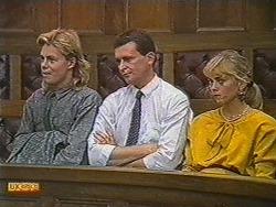 Scott Robinson, Des Clarke, Jane Harris in Neighbours Episode 0716
