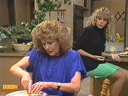 Madge Ramsay, Charlene Robinson in Neighbours Episode 0716