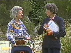 Helen Daniels, Nell Mangel in Neighbours Episode 0716