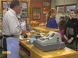 Harold Bishop, Sally Wells, Melanie Pearson in Neighbours Episode 0717