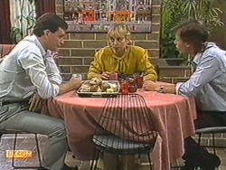 Des Clarke, Jane Harris, Mike Young in Neighbours Episode 0717