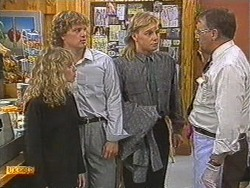 Charlene Mitchell, Henry Ramsay, Scott Robinson, Harold Bishop in Neighbours Episode 0717