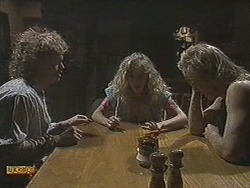 Henry Ramsay, Charlene Mitchell, Scott Robinson in Neighbours Episode 0717