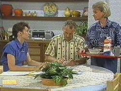 Beverly Marshall, Jim Robinson, Helen Daniels in Neighbours Episode 0718