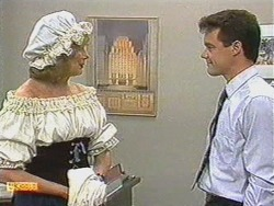 Madge Bishop, Paul Robinson in Neighbours Episode 0718