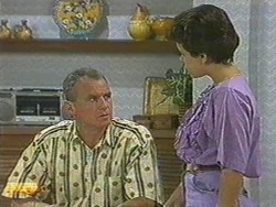 Jim Robinson, Lucy Robinson in Neighbours Episode 0718