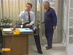 Paul Robinson, Rob Lewis in Neighbours Episode 0719
