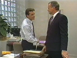 Paul Robinson, Jim Robinson in Neighbours Episode 0719
