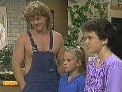 Henry Ramsay, Katie Landers, Lucy Robinson in Neighbours Episode 0719
