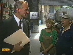 Jim Robinson, Charlene Mitchell, Rob Lewis in Neighbours Episode 0719