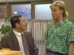 Malcolm Clarke, Scott Robinson in Neighbours Episode 0720