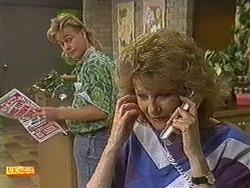 Scott Robinson, Madge Ramsay in Neighbours Episode 0720
