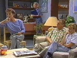 Gail Robinson, Helen Daniels, Jim Robinson, Sally Wells in Neighbours Episode 0720