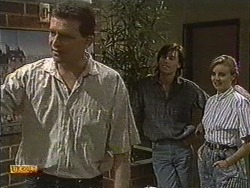 Des Clarke, Mike Young, Sally Wells in Neighbours Episode 0721
