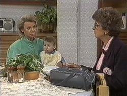 Helen Daniels, Jamie Clarke, Nell Mangel in Neighbours Episode 0721